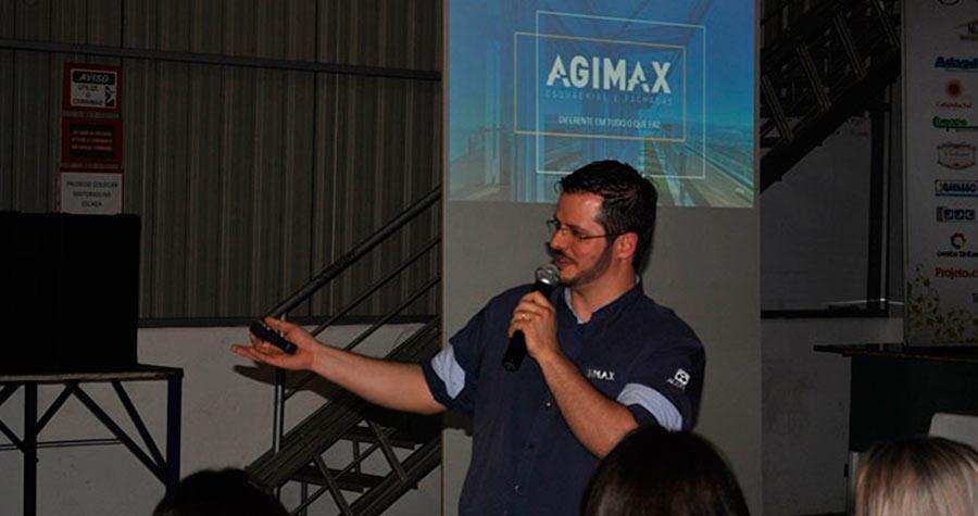 Evento na Agimax lança nova campanha do Núcleo Home