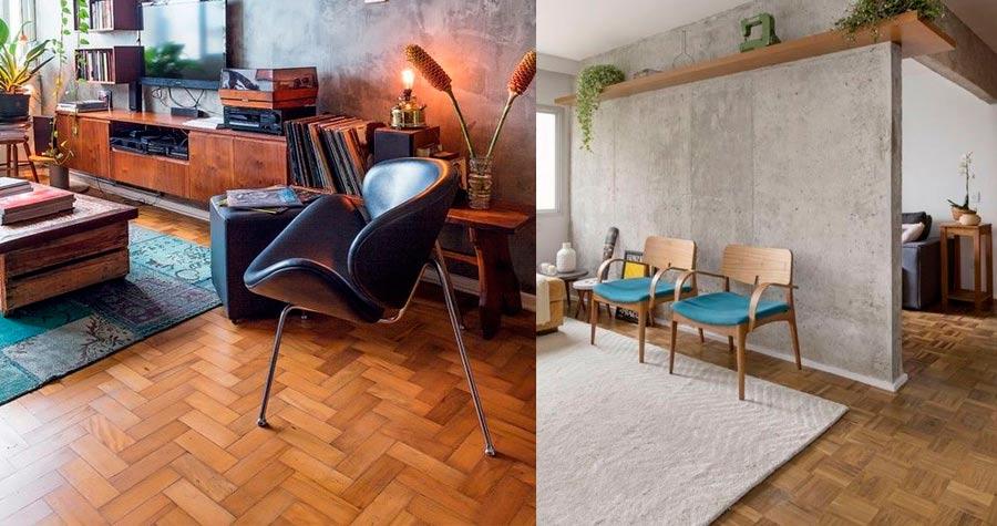 Qual revestimento de piso é indicado para aquecer a casa?
